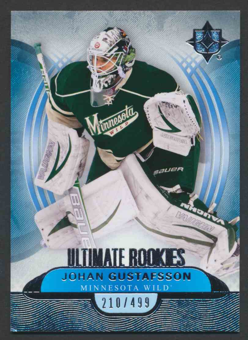 2013-14 Ultimate Collection Johan Gustafsson #108 card front image