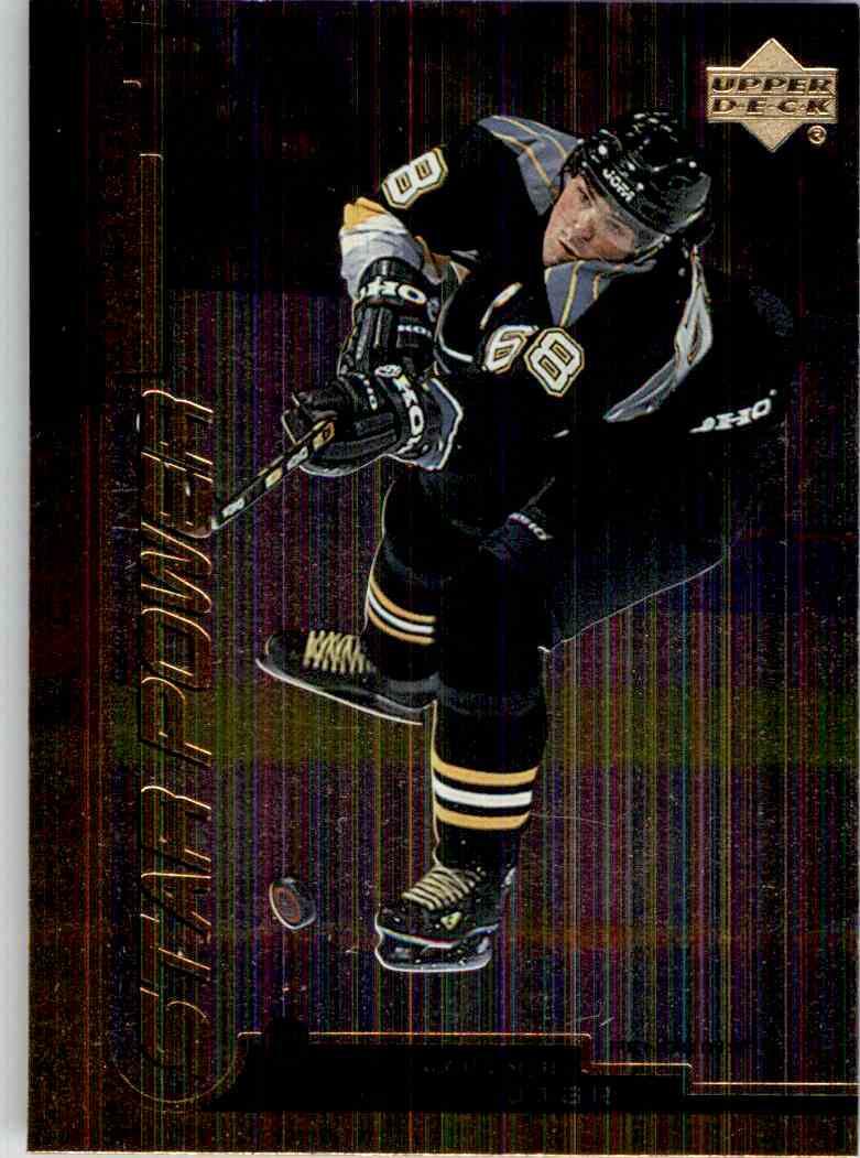 1999-00 Upper Deck Star Power Gold Reserve Jaromir Jagr #138 card front image