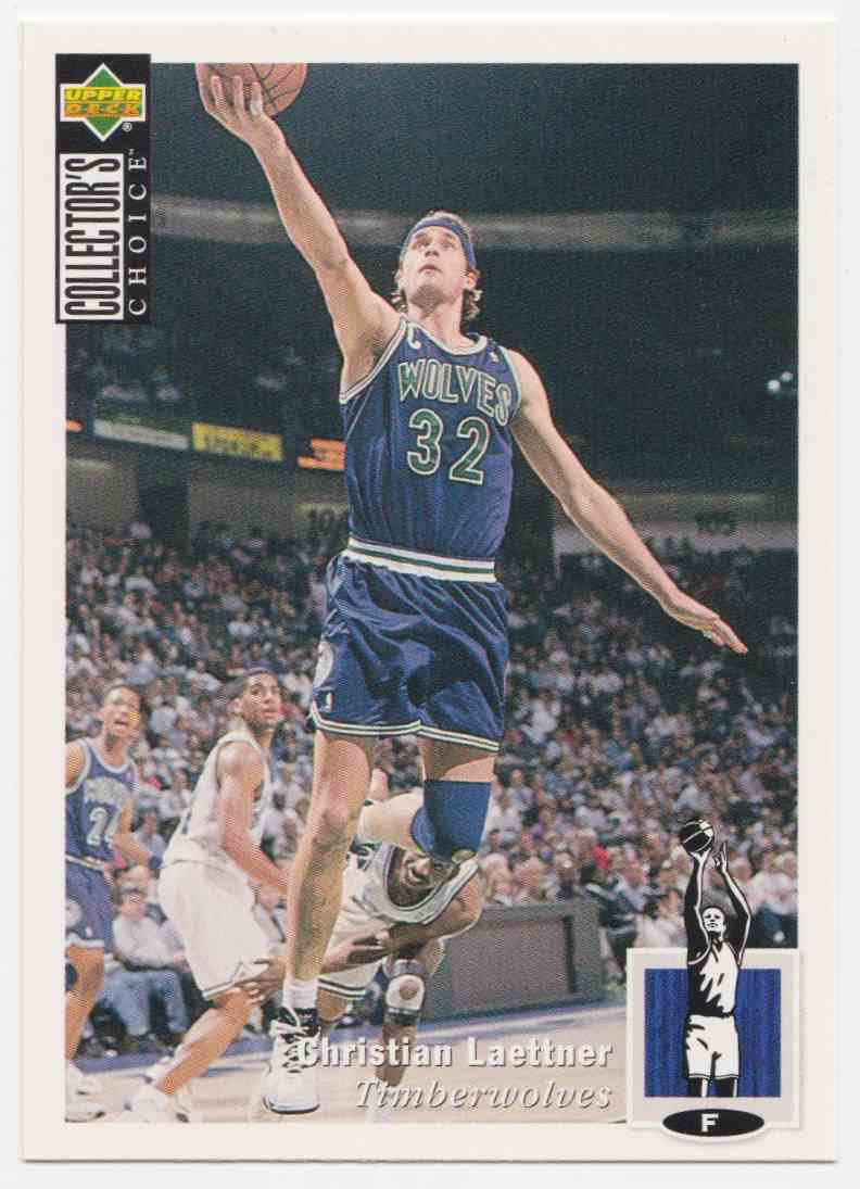 1994-95 Upper Deck Collector's Choice Base Christian Laettner #66 card front image