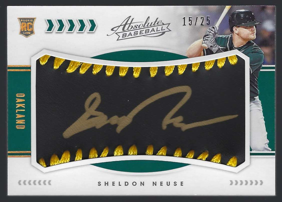 2020 Absolute Black Gold Sheldon Neuse #119 card front image