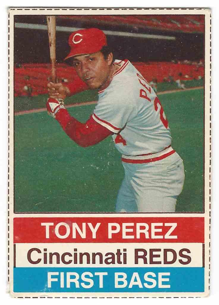 1976 Hostess Tony Perez 86 On Kronozio