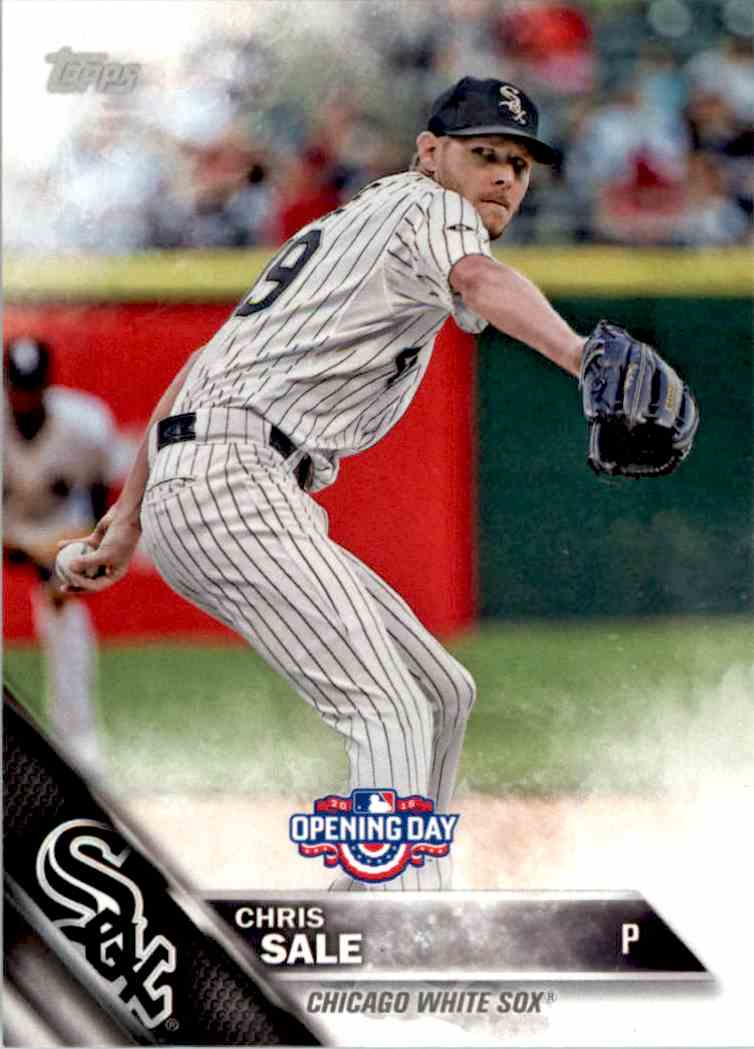 2016 Topps Opening Day Chris Sale #OD-57 card front image