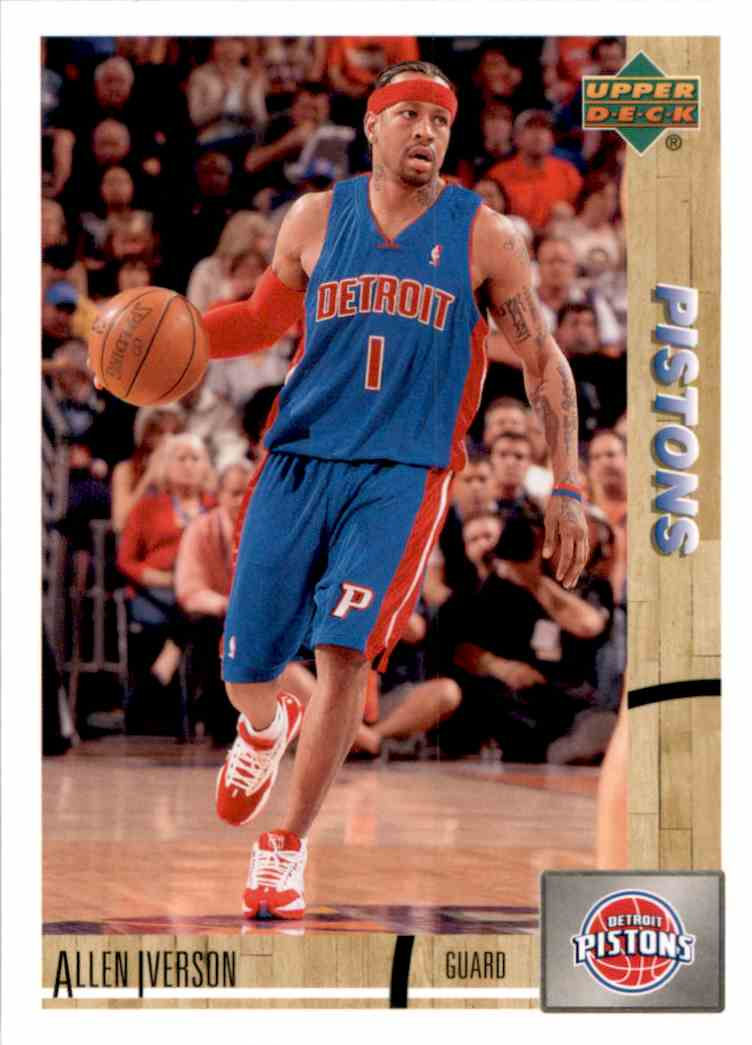 2008-09 Upper Deck Lineage Allen Iverson #32 card front image