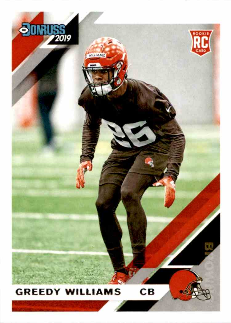 2019 Panini Donruss Greedy Williams #272 card front image