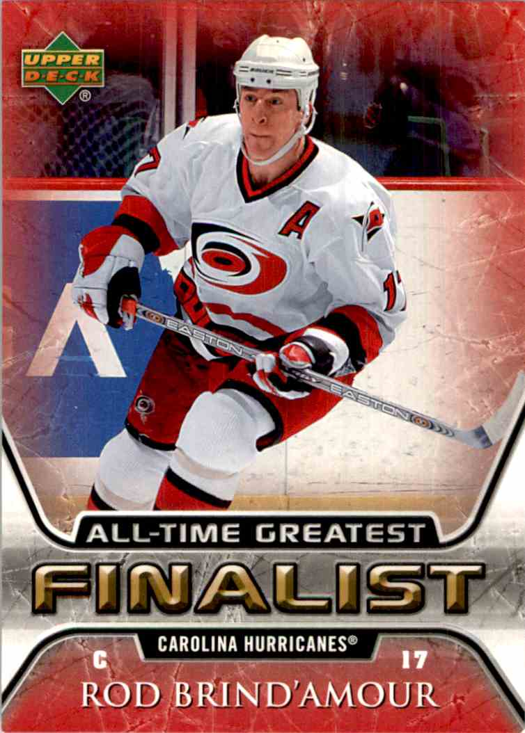 2005-06 Upper Deck All Time Greatest Rod Brind'Amour #11 card front image