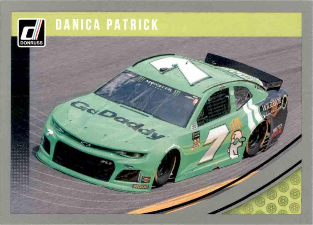2019 Donruss Silver Danica Patrick #100 card front image