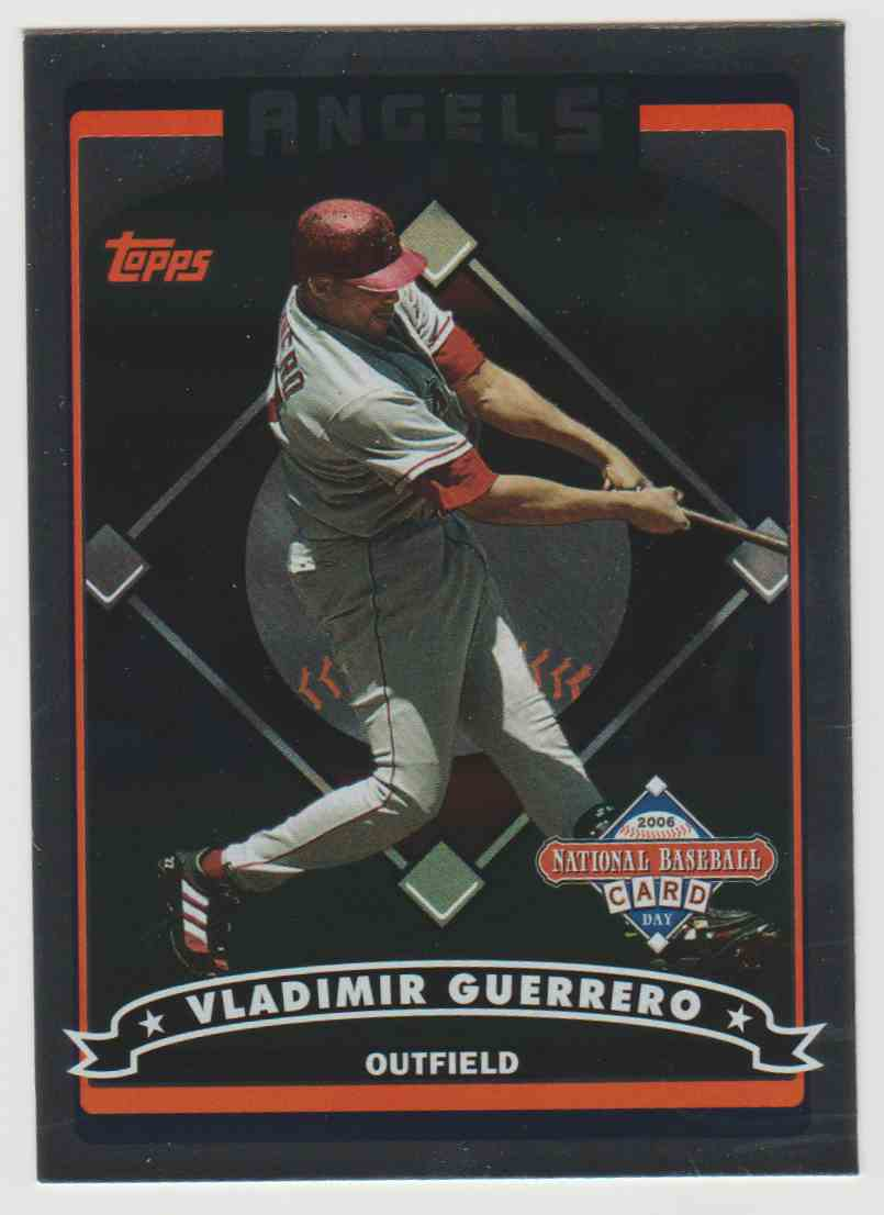 4 Vladimir Guerrero Baseball Card Trading Cards For Sale