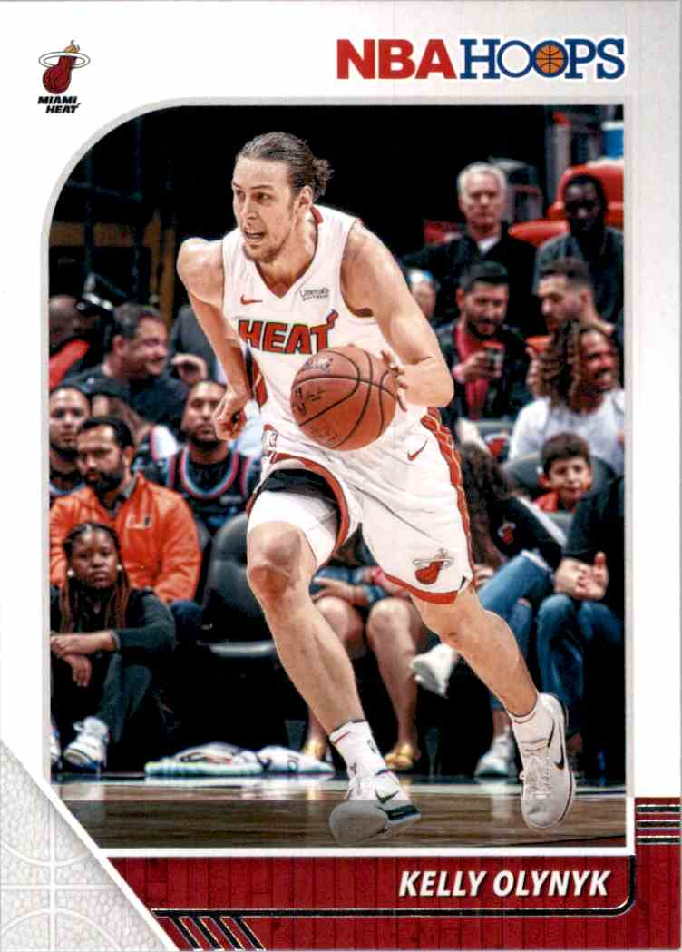 2019-20 Hoops Kelly Olynyk #97 card front image