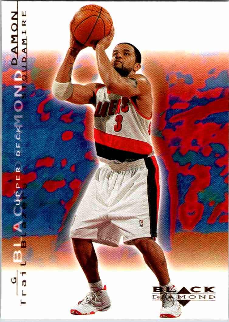 2000-01 Upper Deck Black Diamond Damon Stoudamire #68 card front image