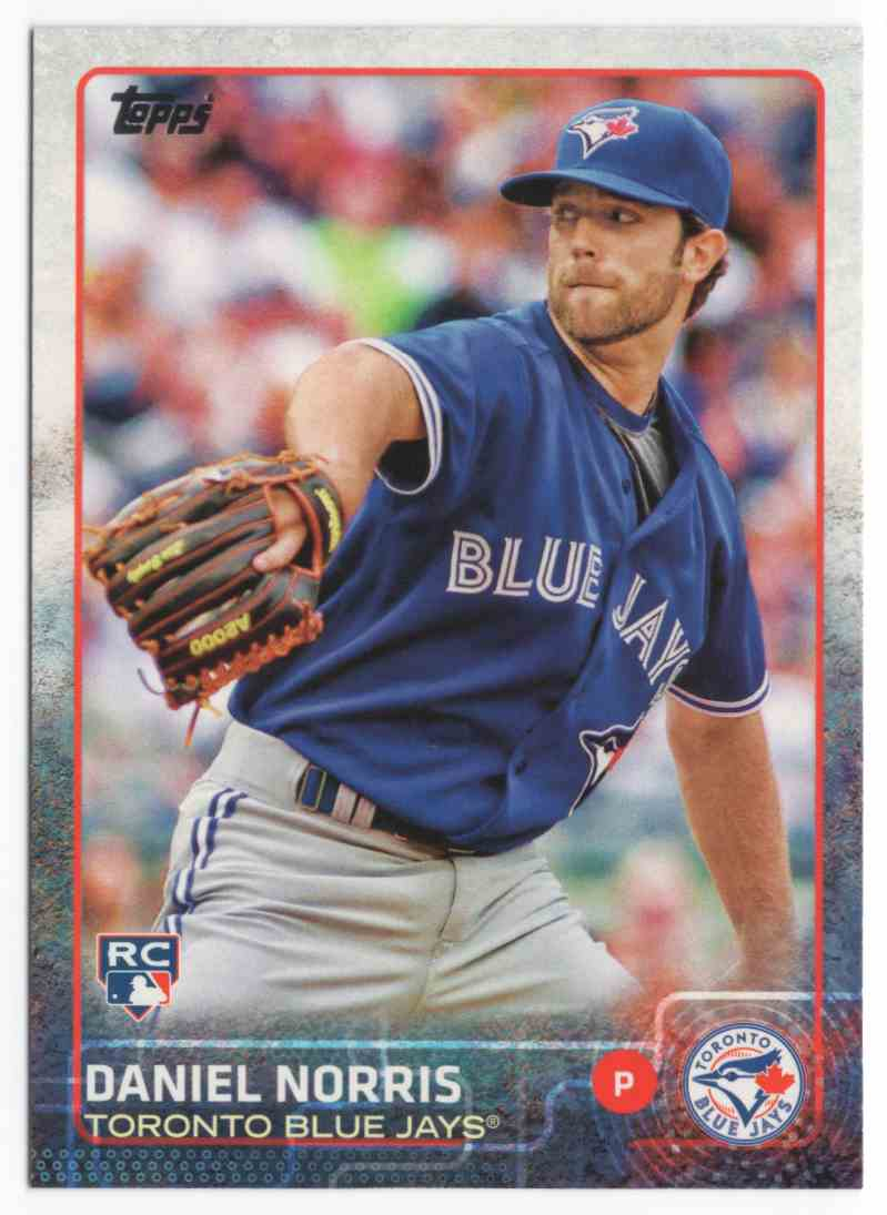 2015 Topps Daniel Norris #217 card front image