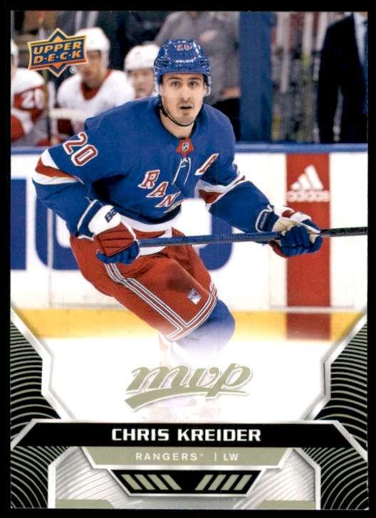 2020-21 Upper Deck MVP Chris Kreider #152 card front image