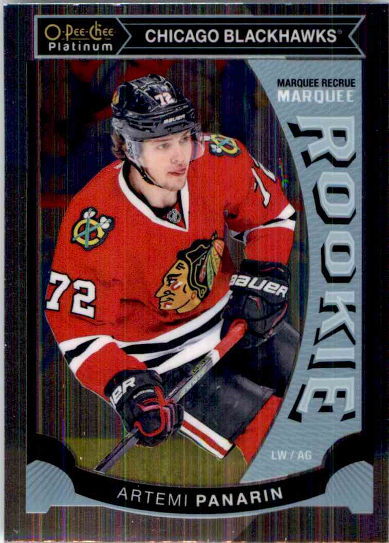 2015-16 O-Pee-Chee Platinum Artemi Panarin #M25 card front image