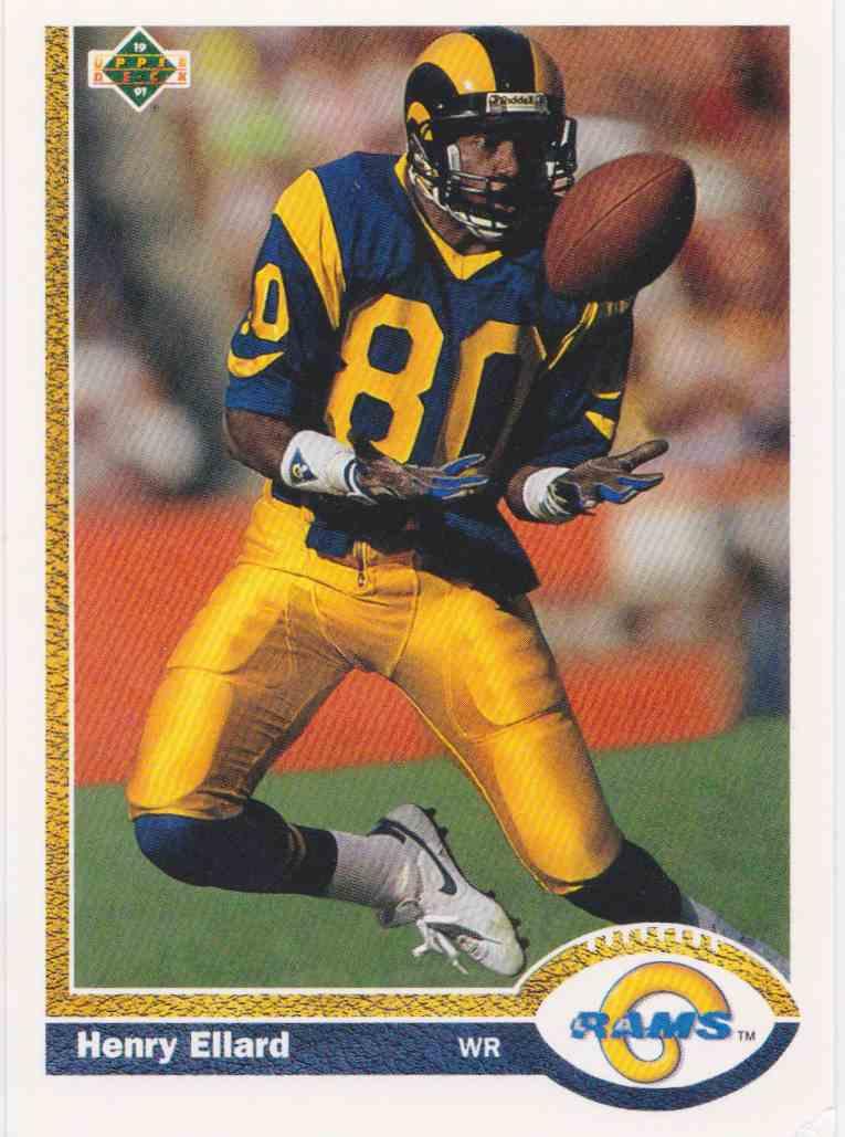 1991 Upper Deck Henry Ellard #362 card front image
