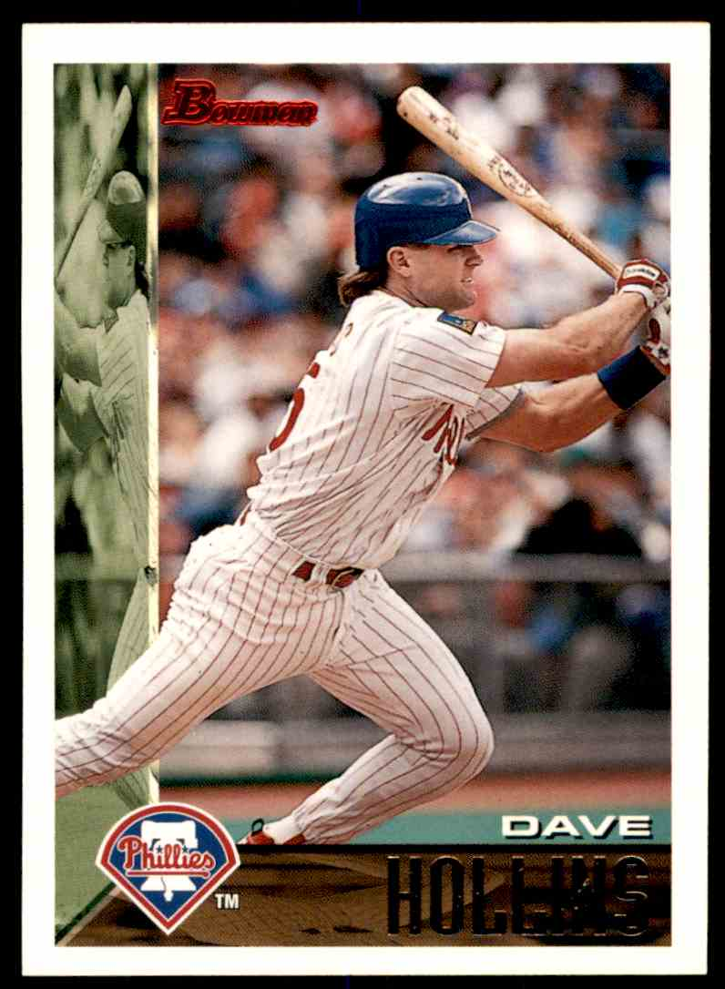1995 Bowman Dave Hollins #281 card front image