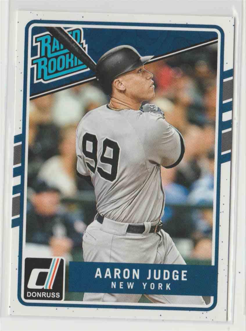 2017 Donruss Aaron Judge #38 card front image
