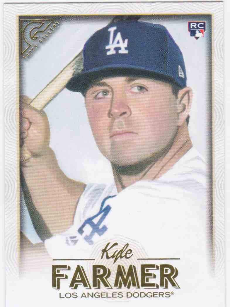 2018 Topps Gallery Kyle Farmer #111 card front image
