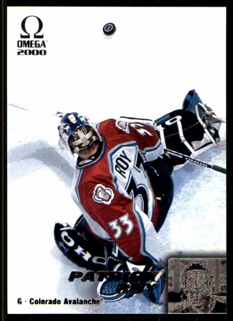 1999-00 Omega Patrick Roy #65 card front image