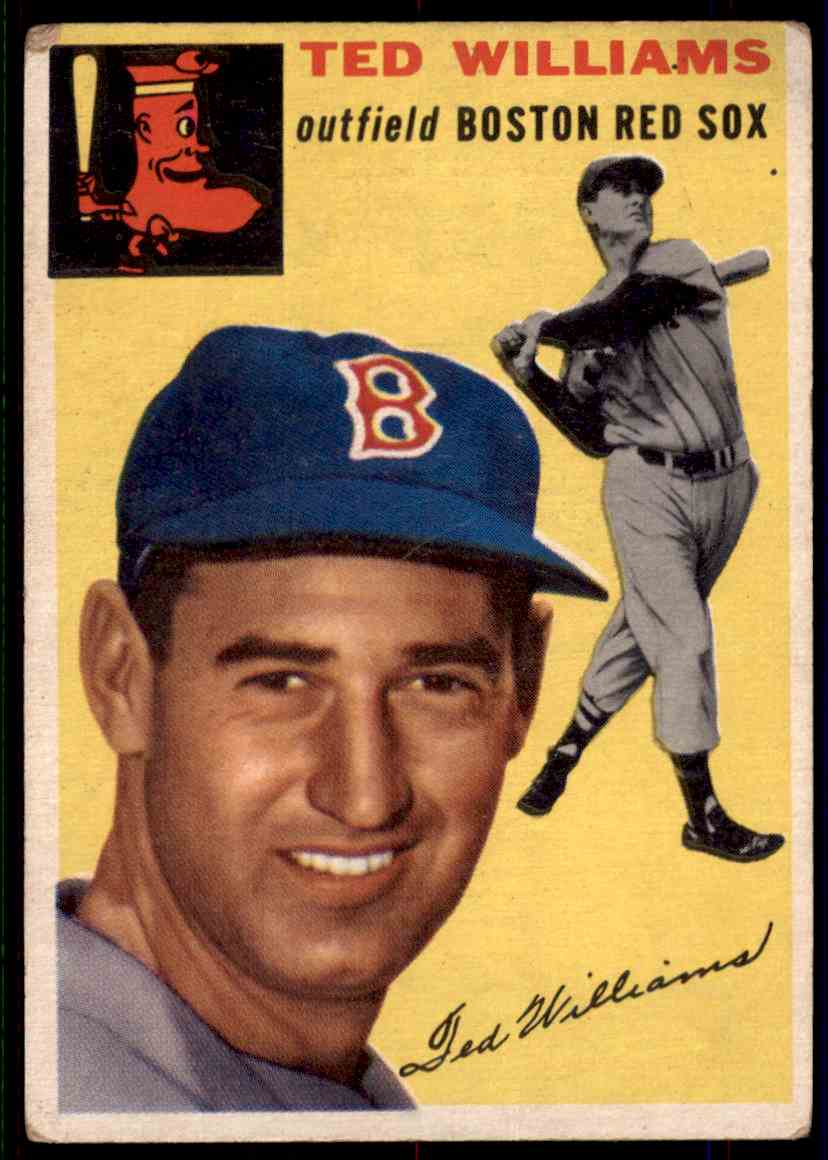 1954 Topps Ted Williams #250 card front image
