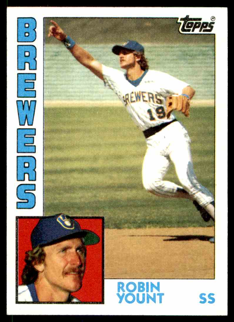 1984 Topps Robin Yount #10 card front image
