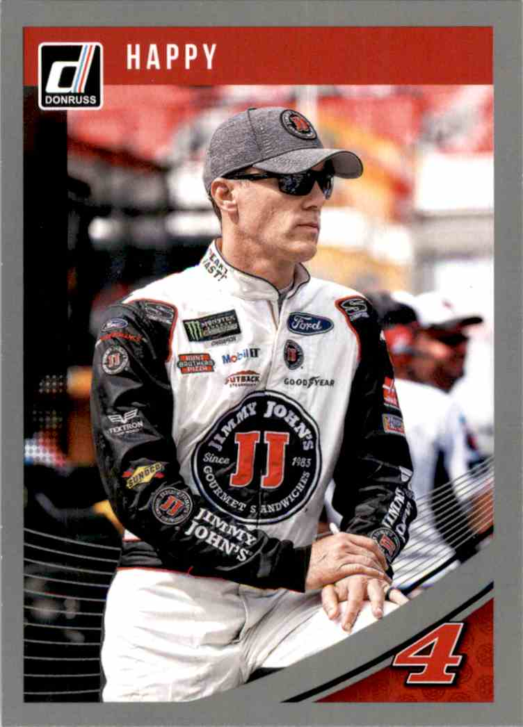 2019 Donruss Silver Kevin Harvick #60 card front image
