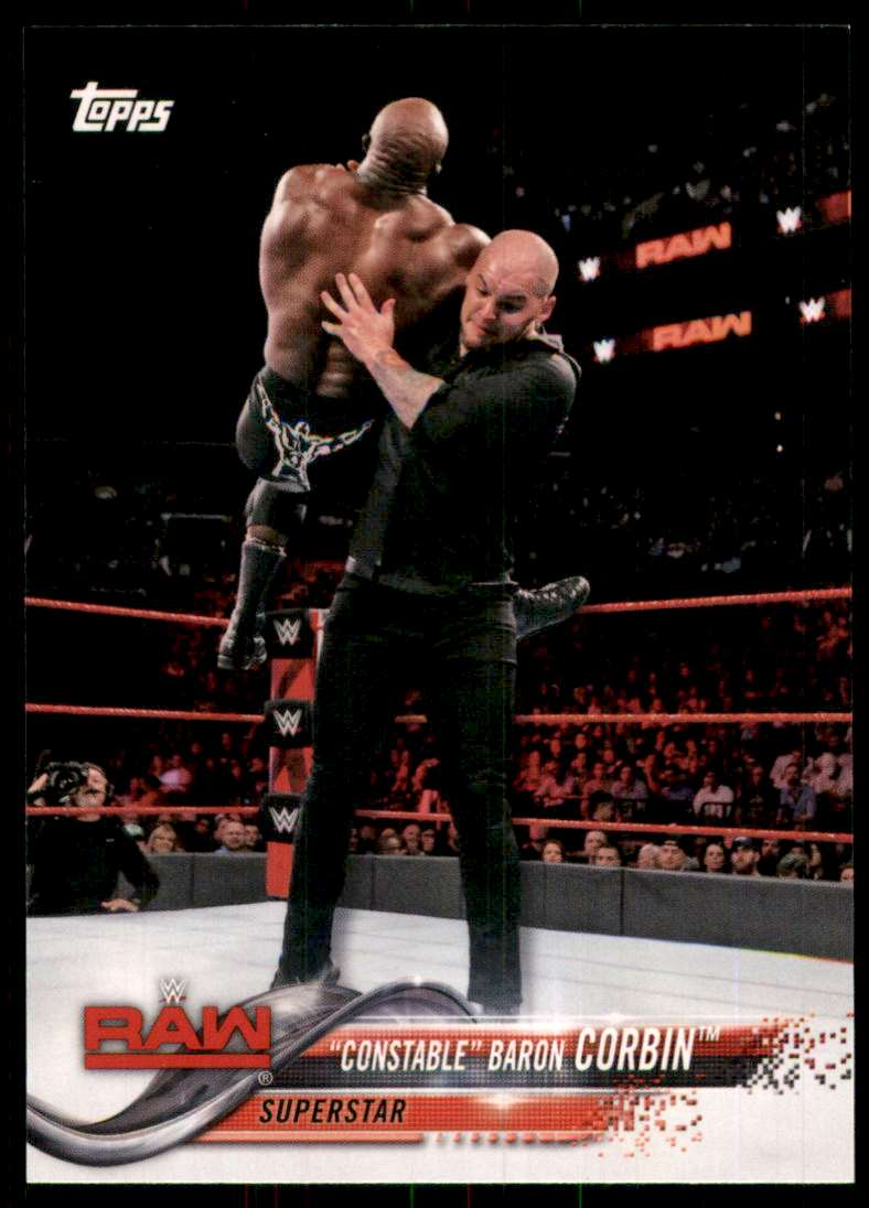 2018 Topps Wwe Then Now Forever Baron Corbin #106 card front image