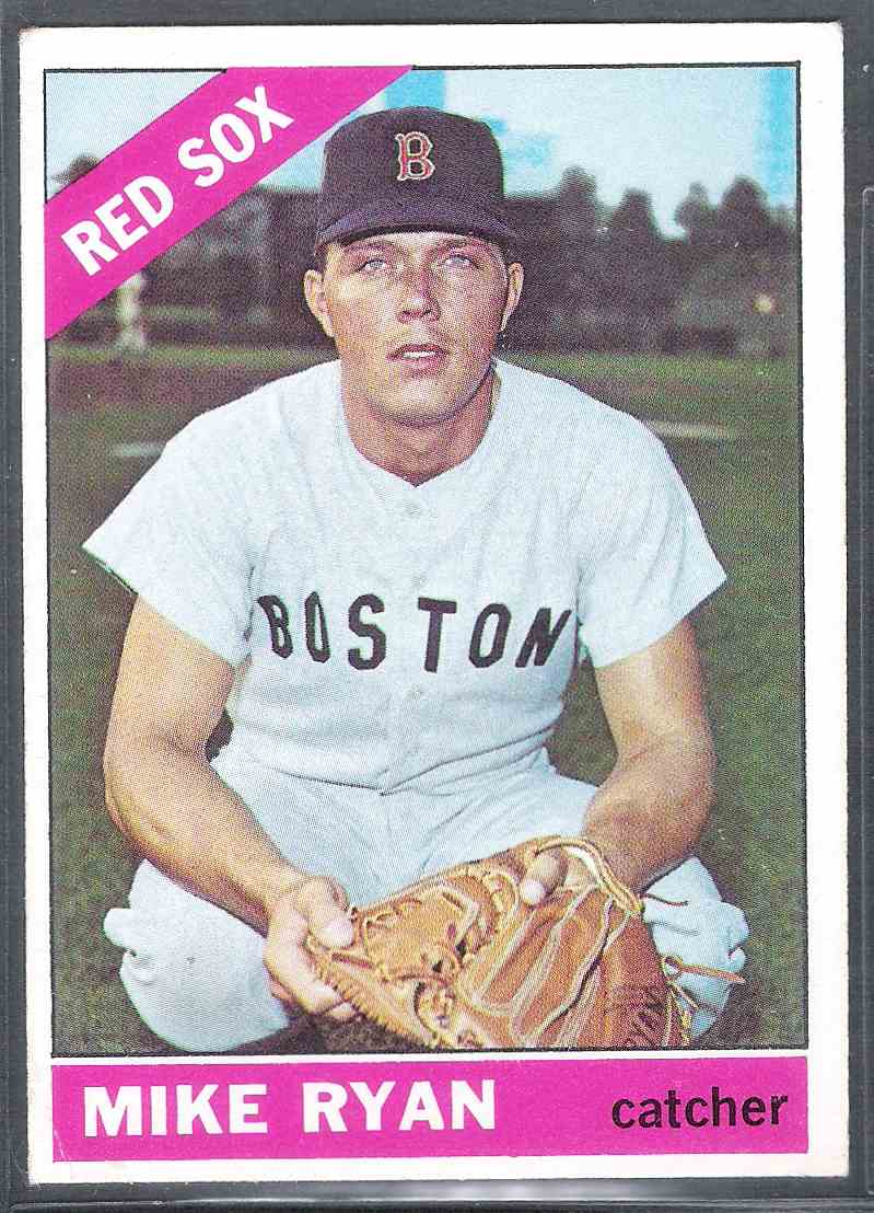 1966 Topps Mike Ryan #419 card front image