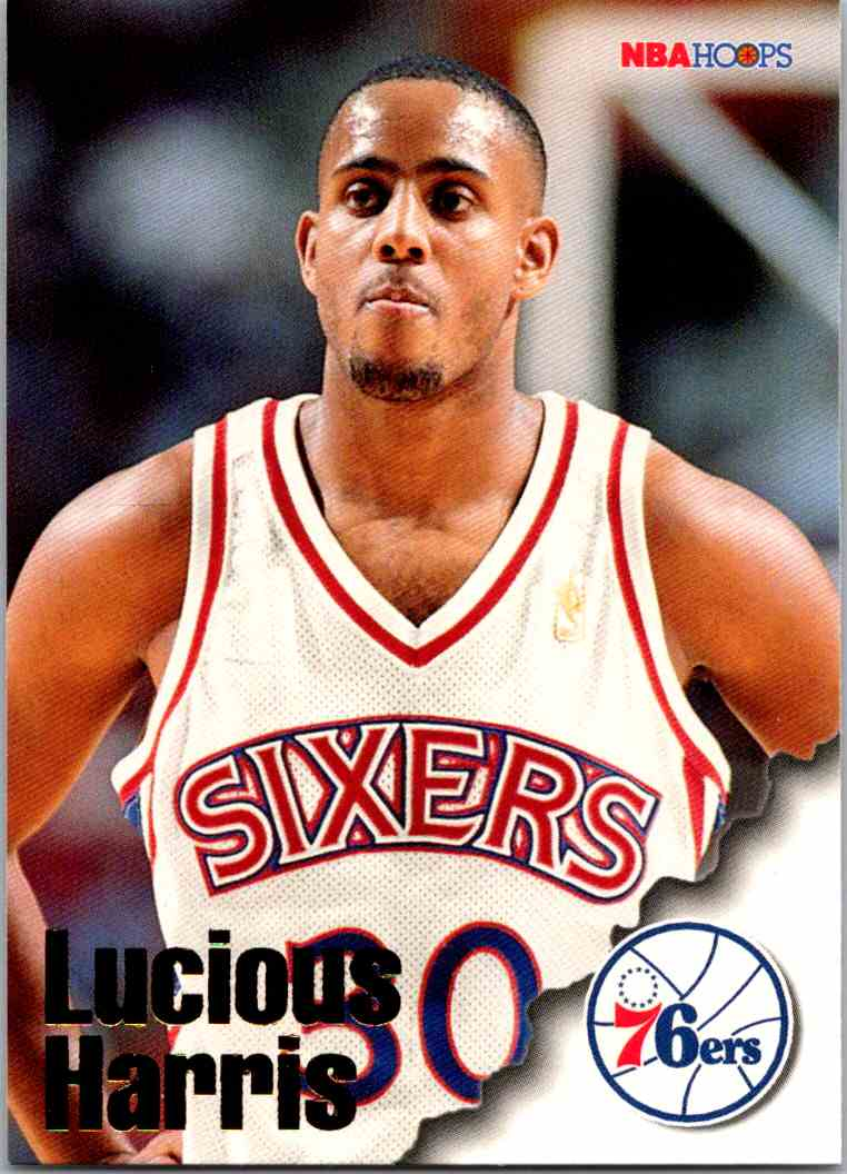 1997-98 NBA Hoops Lucious Harris #231 card front image
