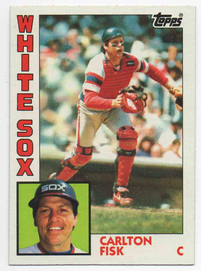 1984 Topps Carlton Fisk #560 card front image