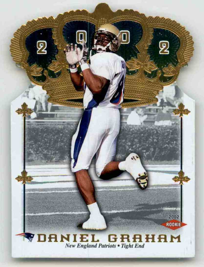 2002 Crown Royale Daniel Graham RC #187 card front image