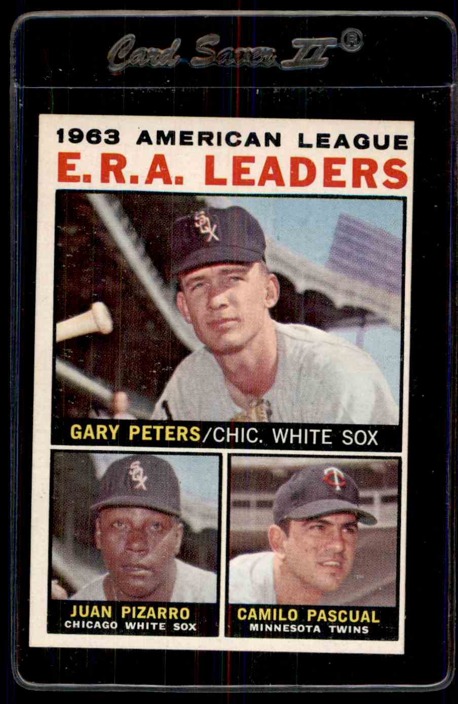 1964-65 Topps Era Leaders Nm-Mt card front image