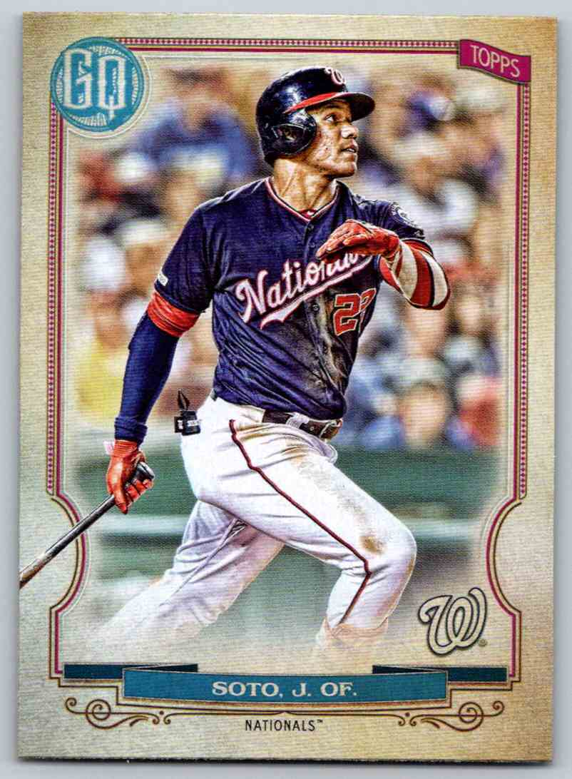 2020 Topps Gypsy Queen Base Juan Soto #178 card front image