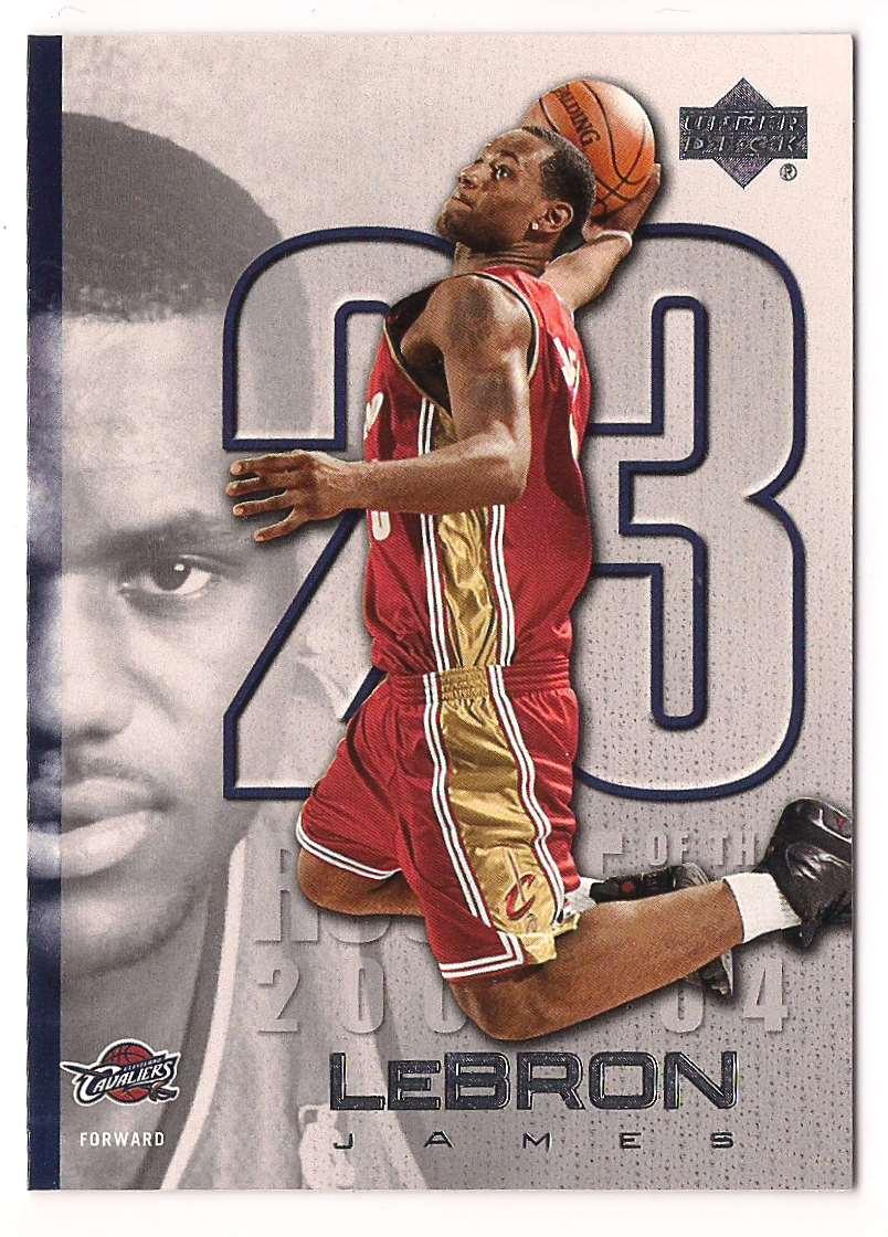 2005-06 Upper Deck Lebron James #LJ17 card front image