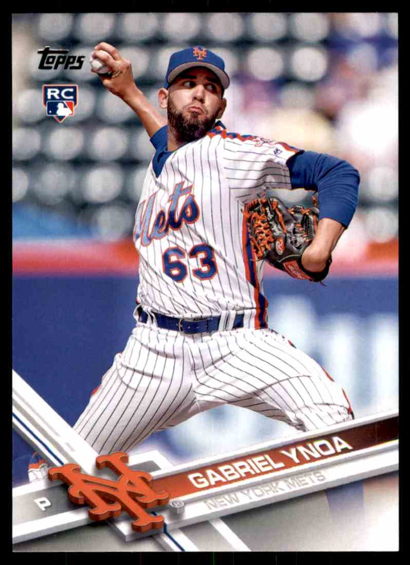 2017 Topps Gabriel Ynoa RC #79 card front image