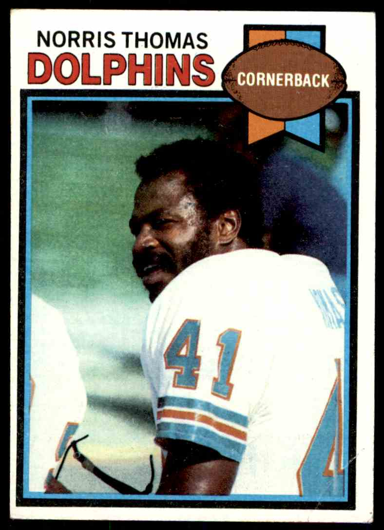 1979 Topps Norris Thomas #239 card front image