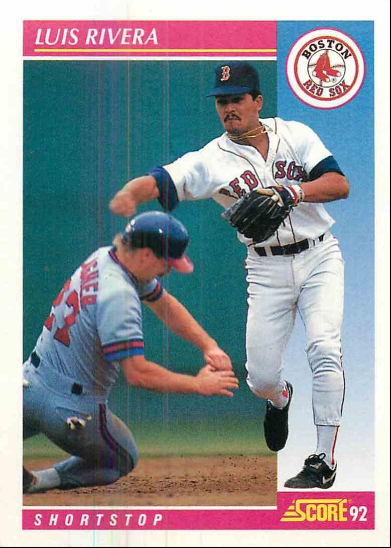 1992 Score Luis Rivera #159 card front image