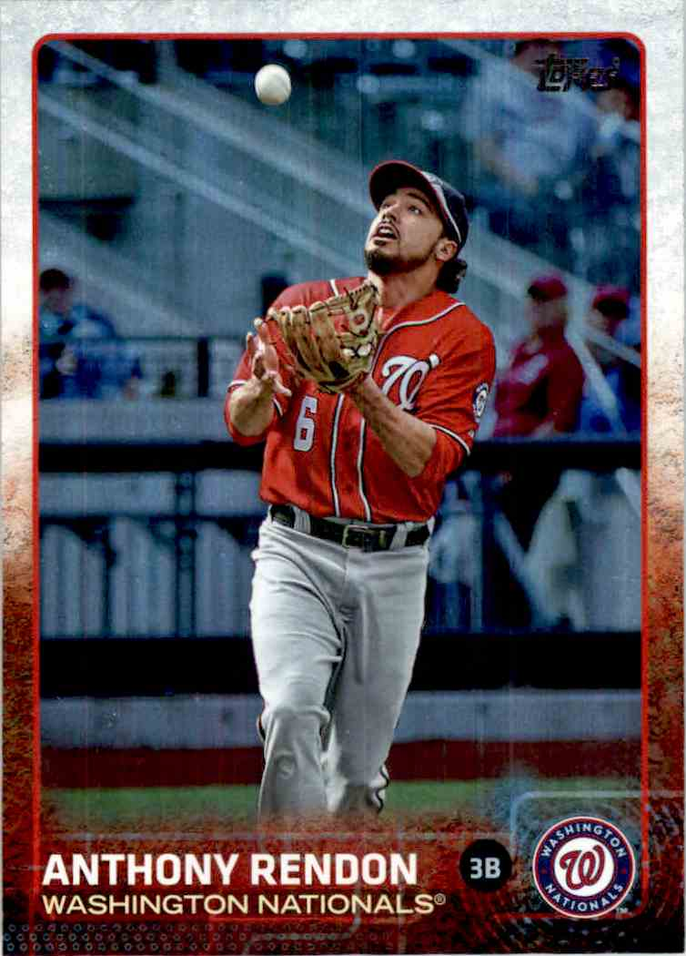 2015 Topps Rainbow Foil Anthony Rendon #251 card front image