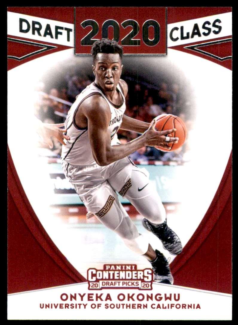 2020-21 Panini Contenders Draft Picks Draft Class Onyeka Okongwu #5 card front image