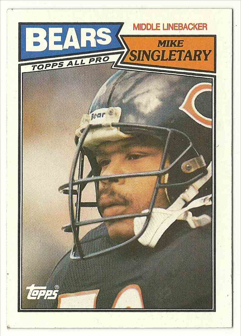 1991 Topps Mike Singletary #58 card front image