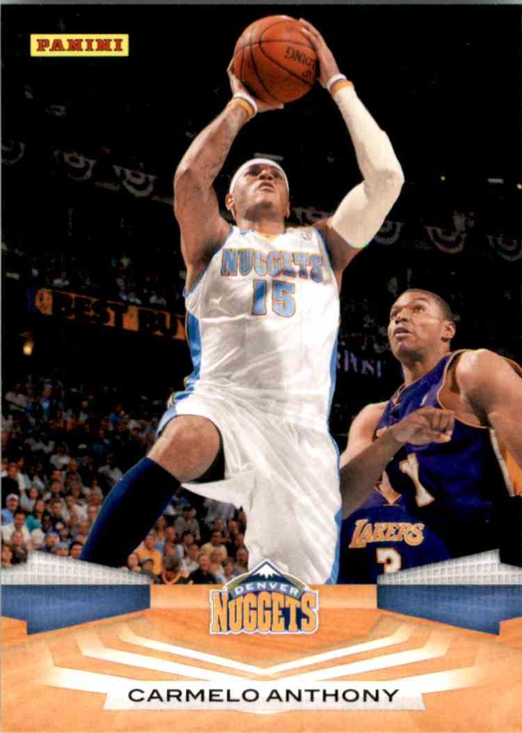 2009-10 Panini Carmelo Anthony #202 card front image