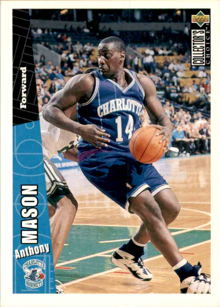 1996-97 Collector's Choice Anthony Mason #216 card front image