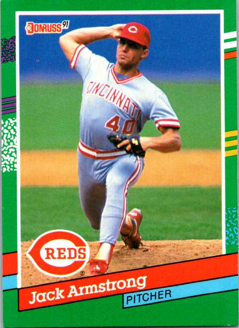 1991 Leaf Donruss Jack Armstrong #571 card front image