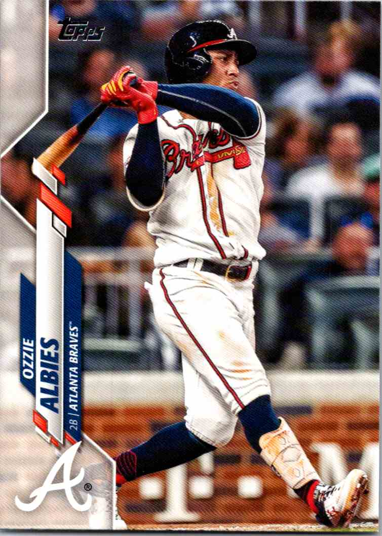 2020 Topps Series Two Ozzie Albies #480 card front image
