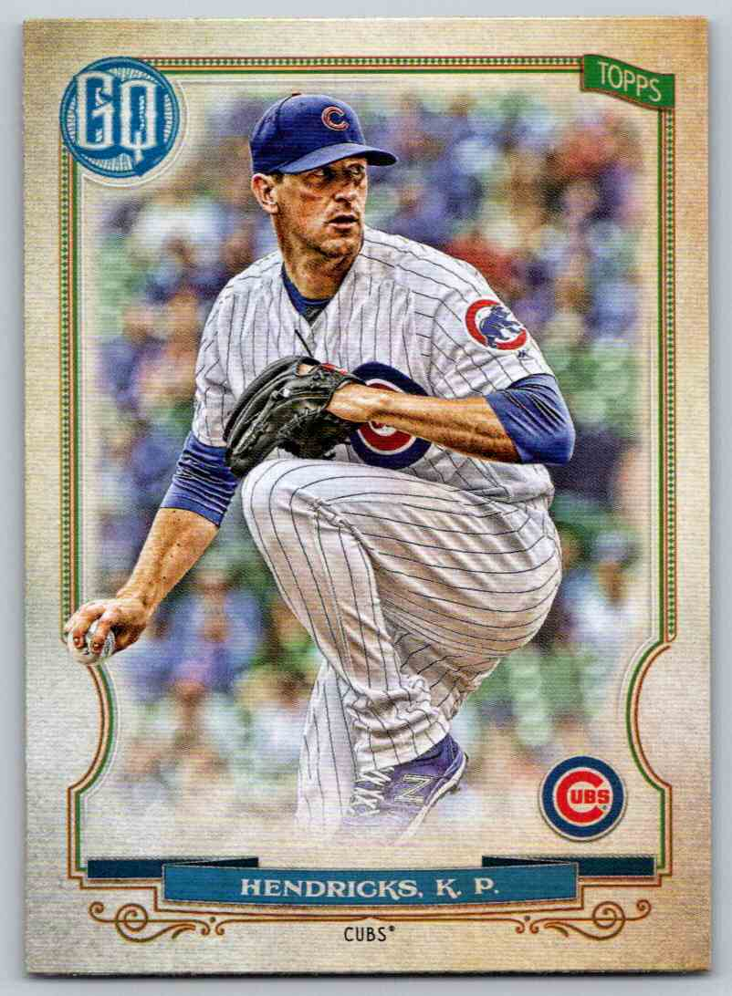 2020 Topps Gypsy Queen Base Kyle Hendricks #72 card front image