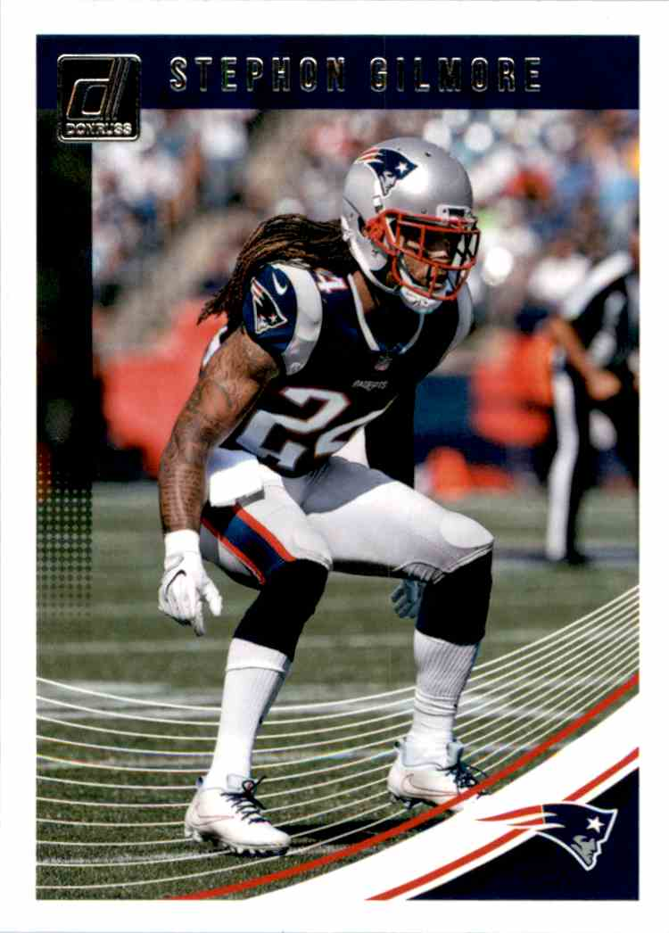 2018 Donruss Stephon Gilmore #188 card front image
