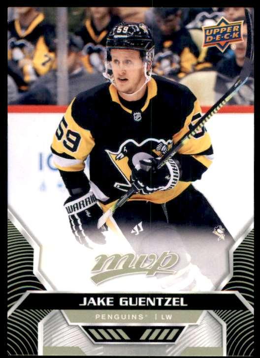2020-21 Upper Deck MVP Jake Guentzel #193 card front image