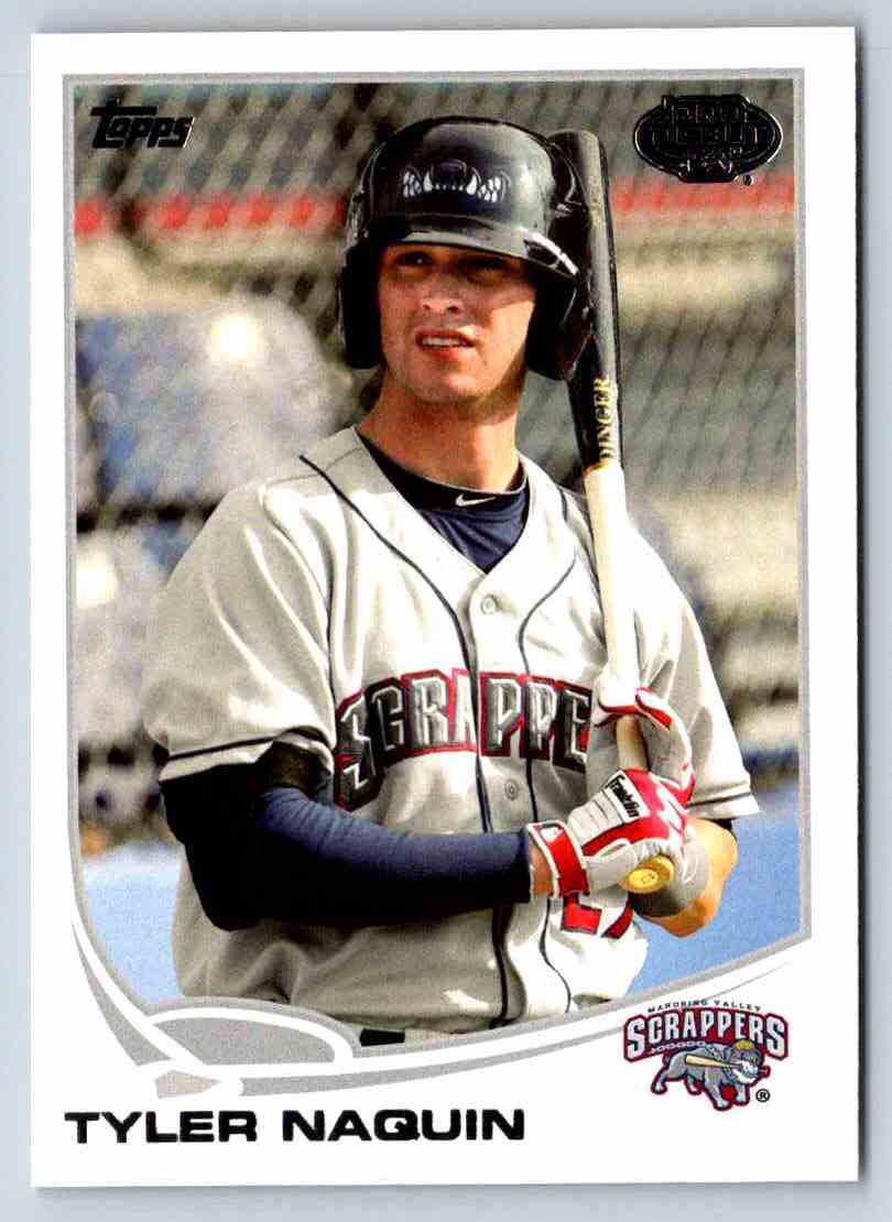 2013 Topps Pro Debut Tyler Naquin #180 card front image