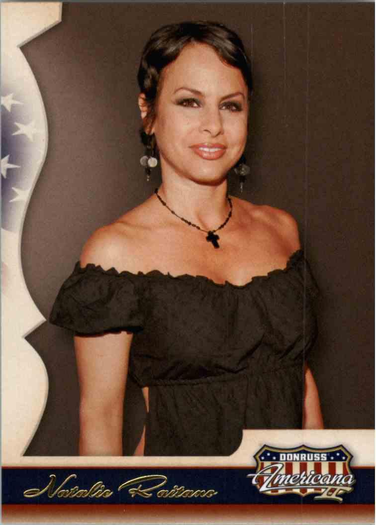 2008 Donruss Americana Natalie Raitano #125 card front image