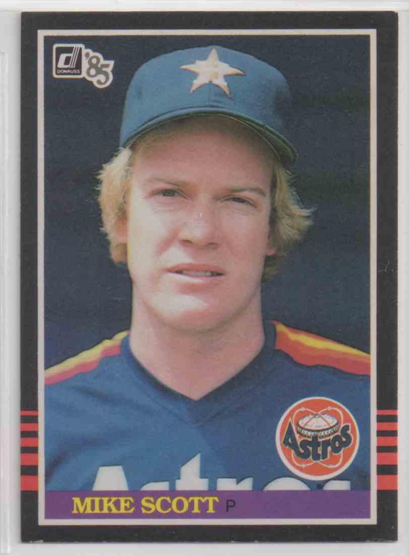 1985 Donruss Houston Astros Mike Scott 258 On Kronozio