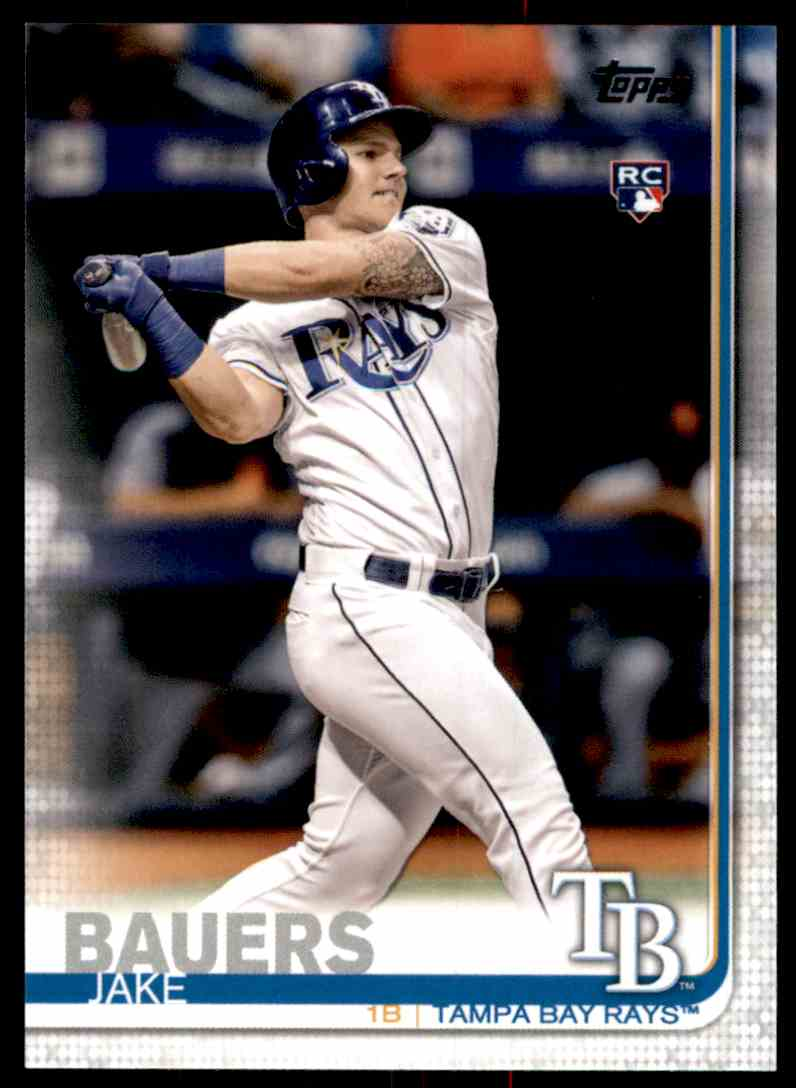 2019 Topps Jake Bauers #311 card front image