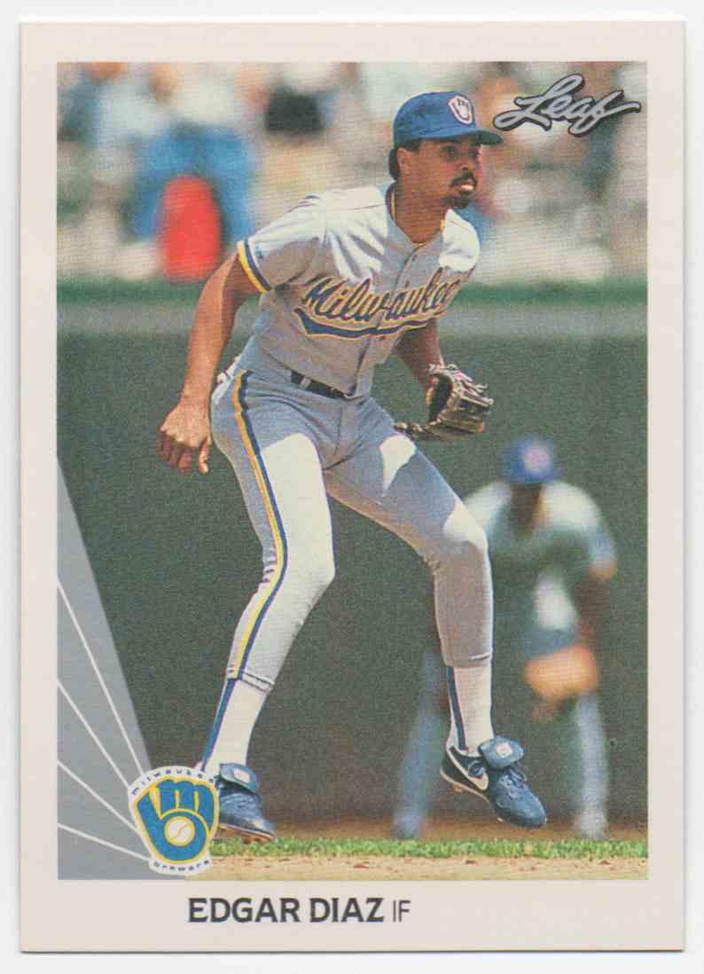 1990 Leaf Edgar Diaz #335 card front image